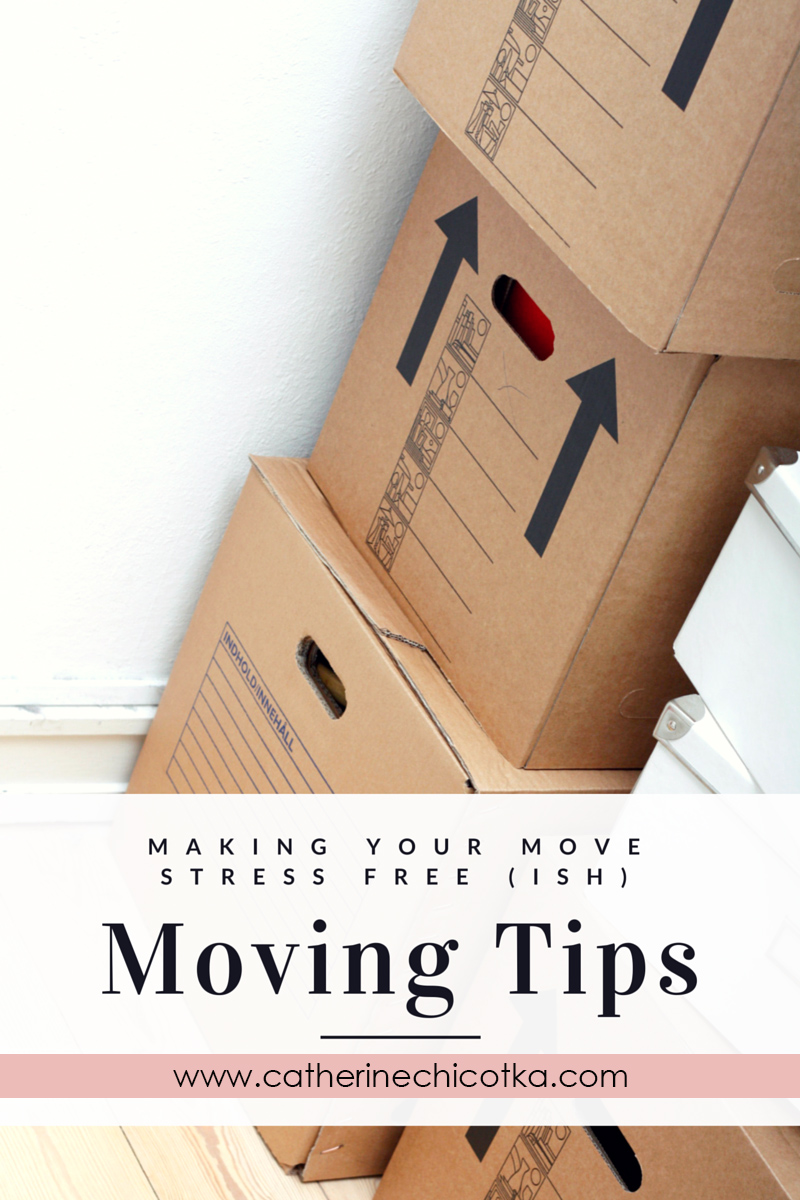 Moving Tips: Making Your Move Stress Free (ish)