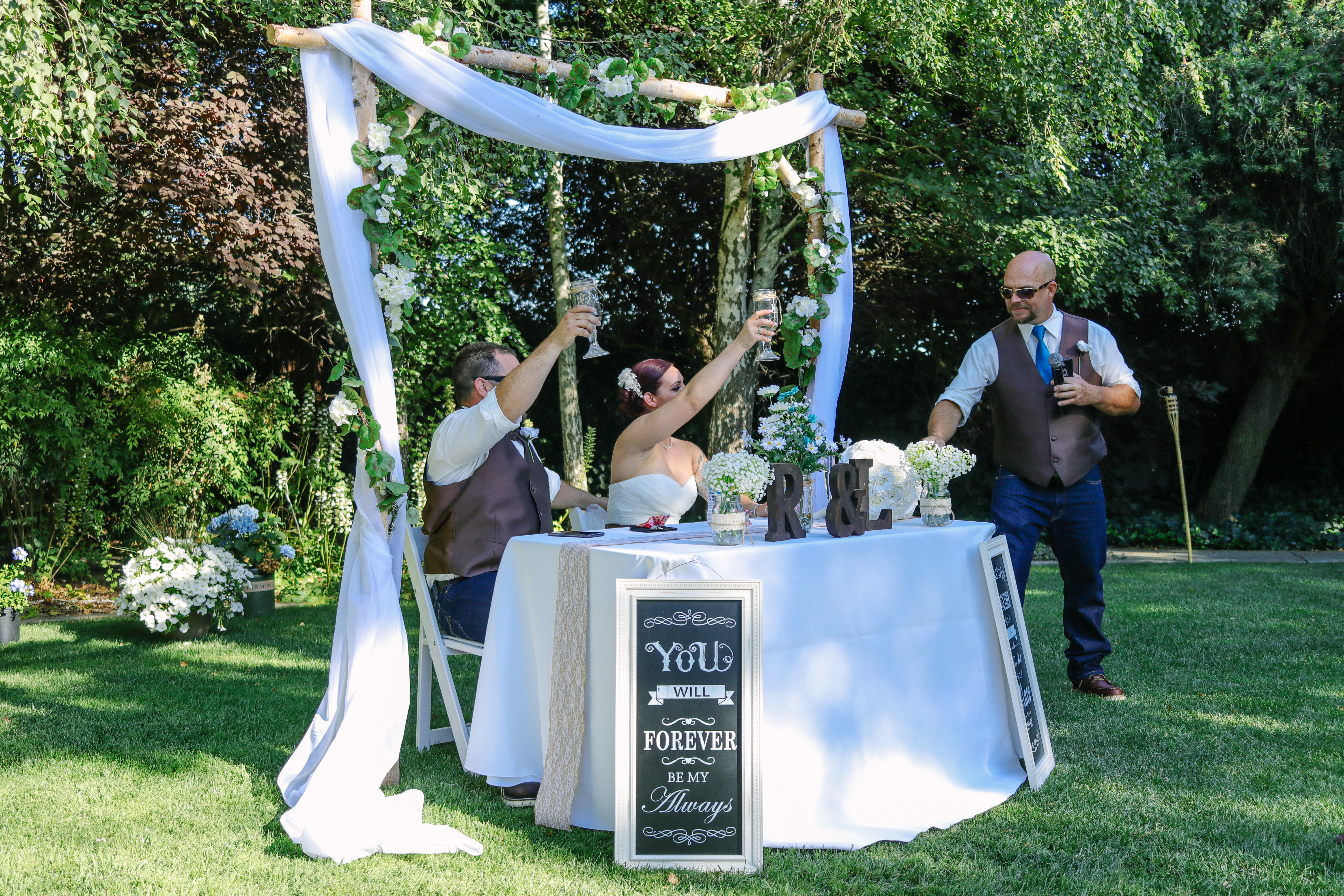 A Backyard Wedding + My Best Friend got Married
