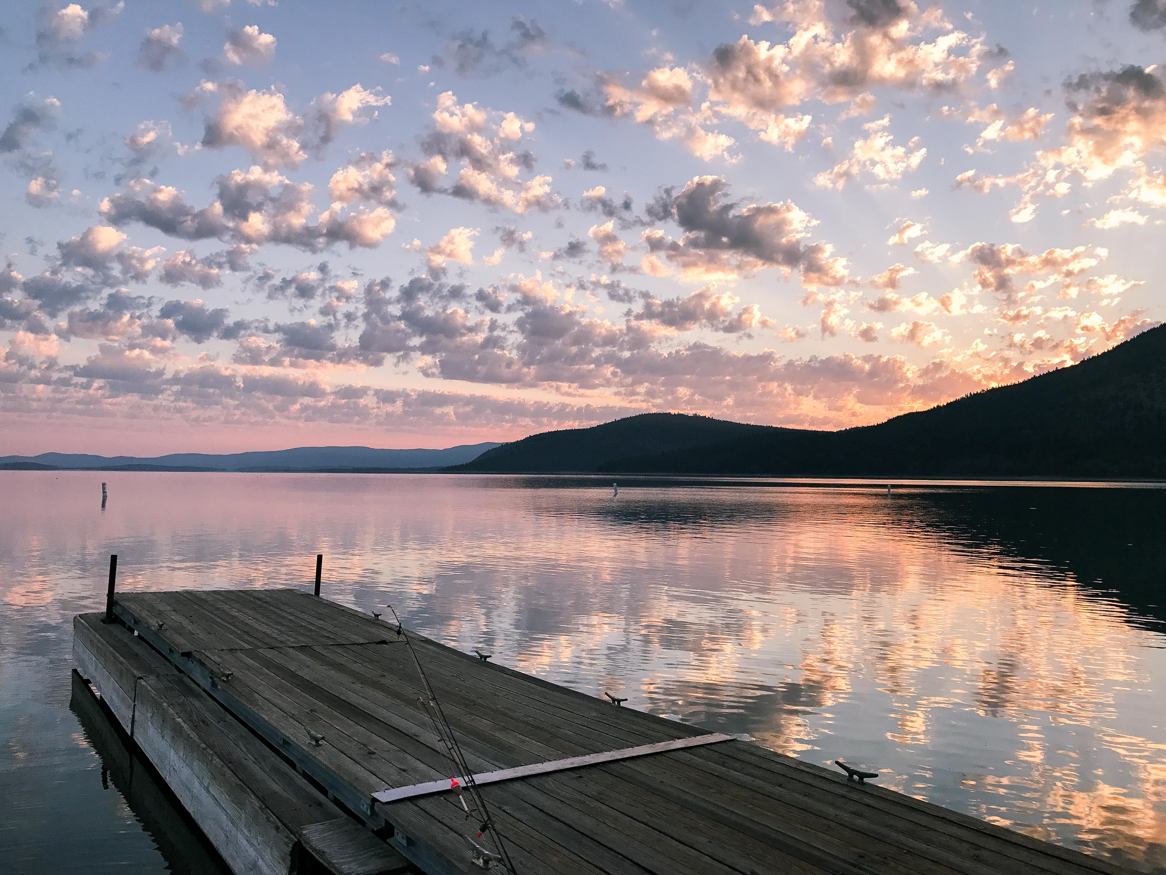 Camping at Eagle Lake