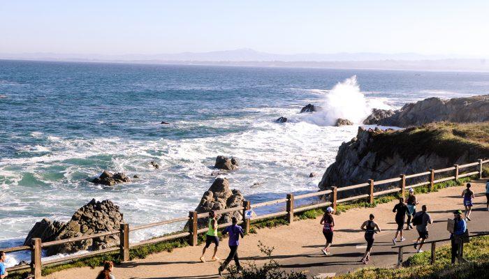 Training for the Monterey Bay Half Marathon