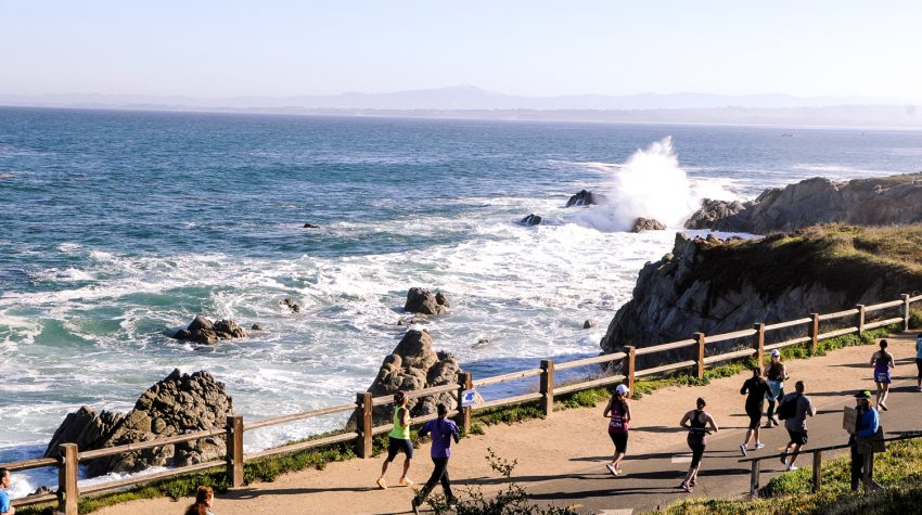 Training for the Monterey Bay Half Marathon