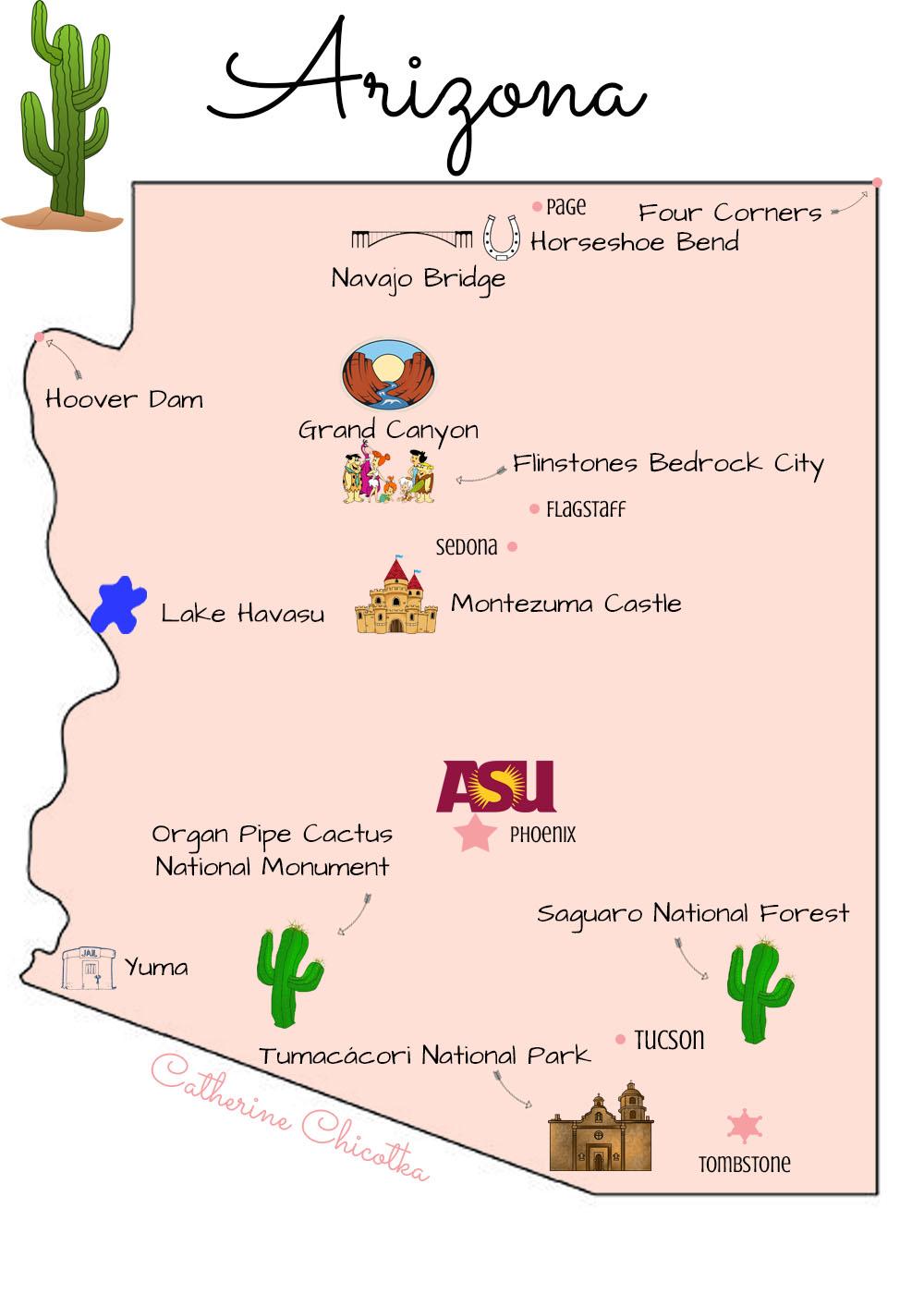 Road Tripping Through Arizona