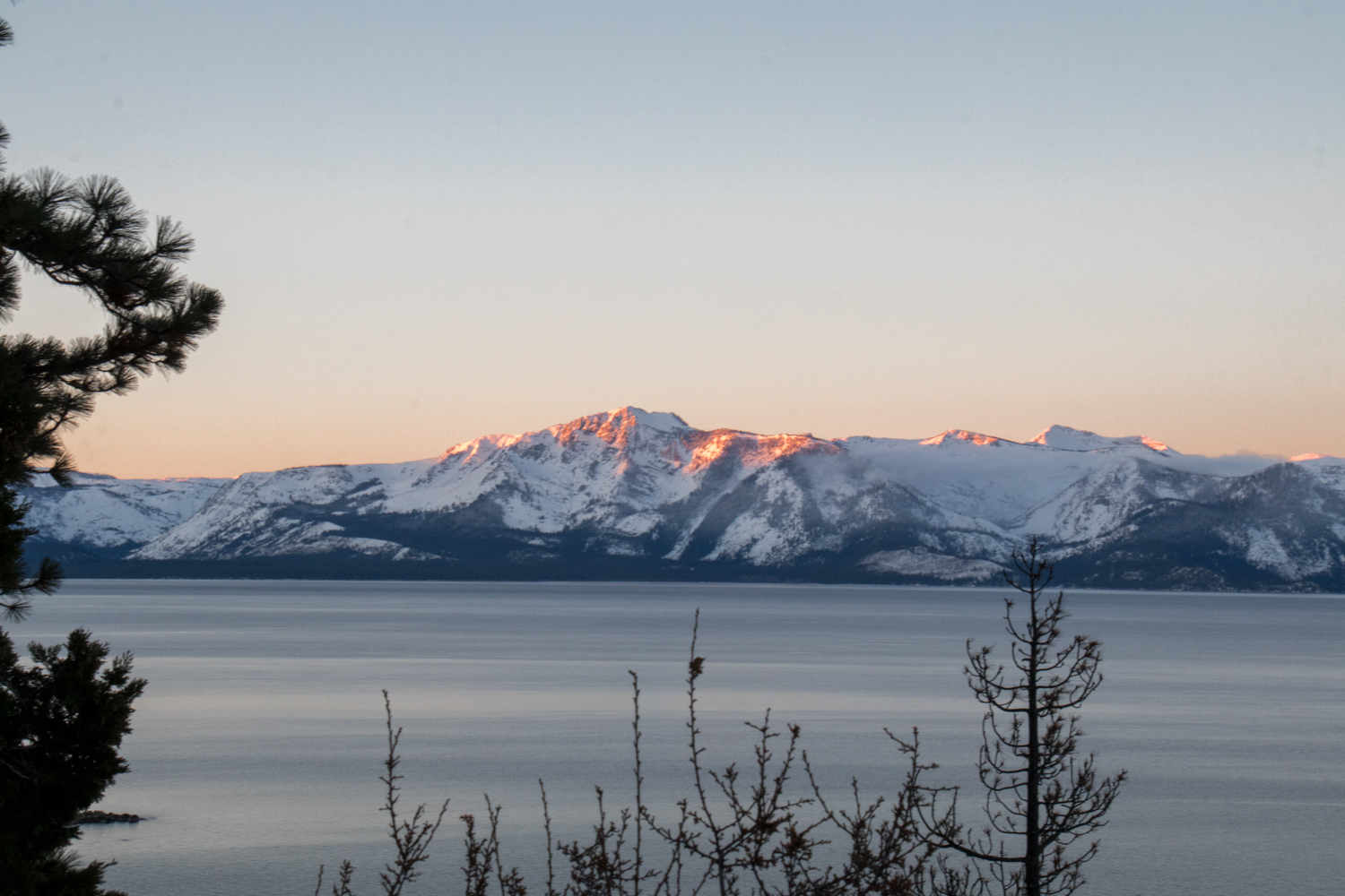 Cave Rock | Lake Tahoe | Snowy Weekend in Lake Tahoe | Catherine Chicotka
