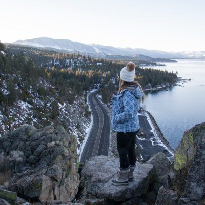 Snowy Weekend in Lake Tahoe