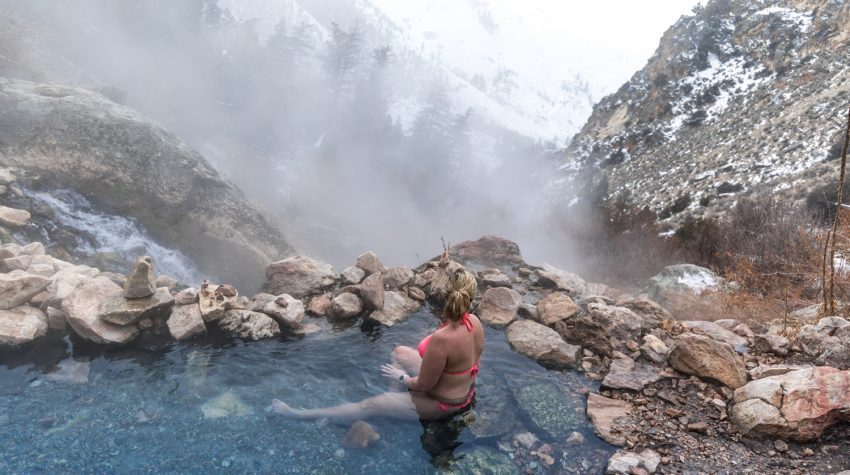 A Guide to Visiting Goldbug Hot Springs - a true hidden gem | Hot Springs Idaho | Catherine Chicotka