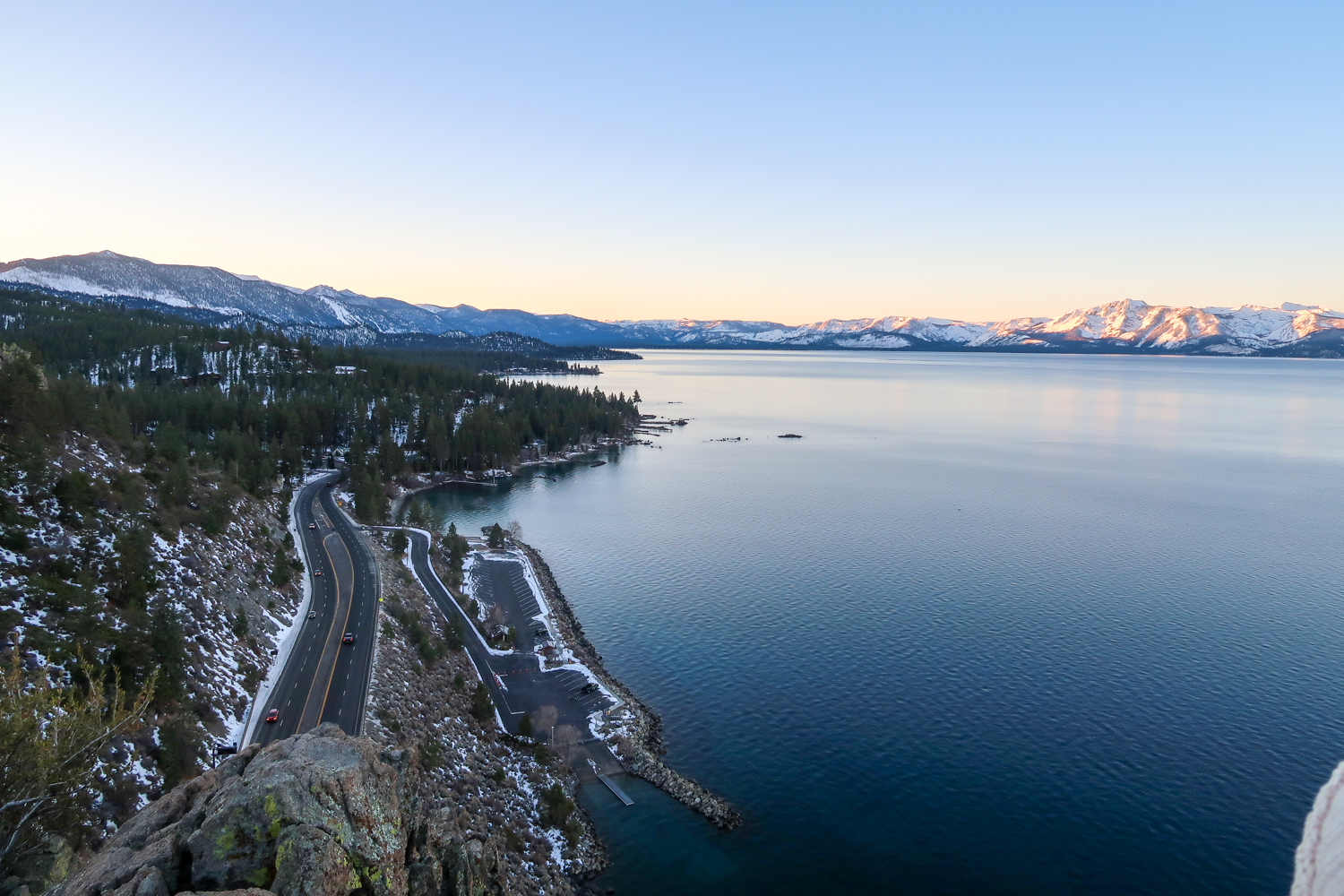 Best Winter Activities in Lake Tahoe | Cave Rock | Hiking Lake Tahoe | Catherine Chicotka